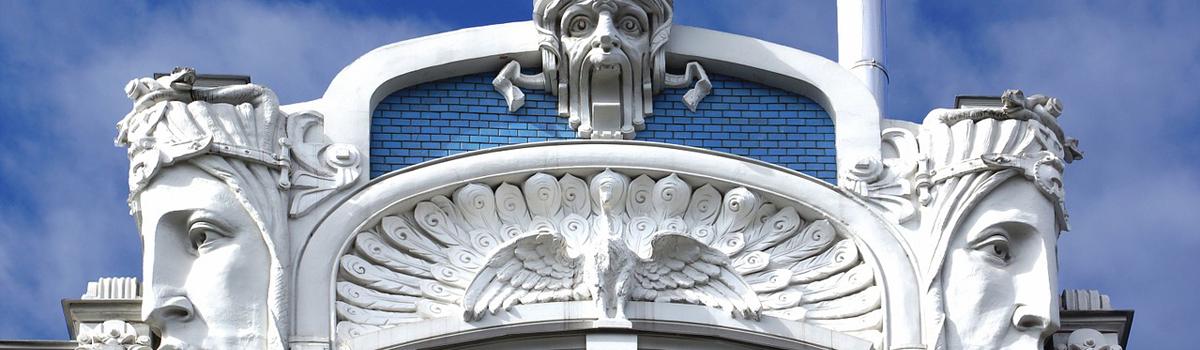 Art Nouveau en Art Déco, een  wereldwijde vernieuwing